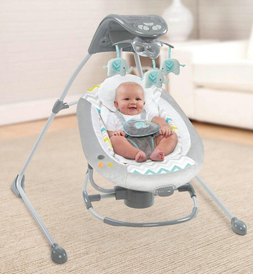 ingenuity elephant baby swing