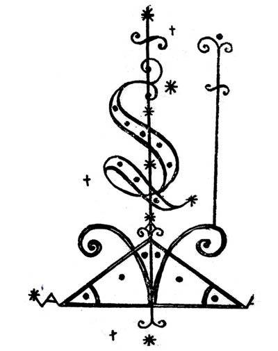 Voodoo Veve Symbol Protection Symbols Pinterest Voodoo Voodoo