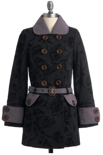Modcloth Nighttime Serenade Coat