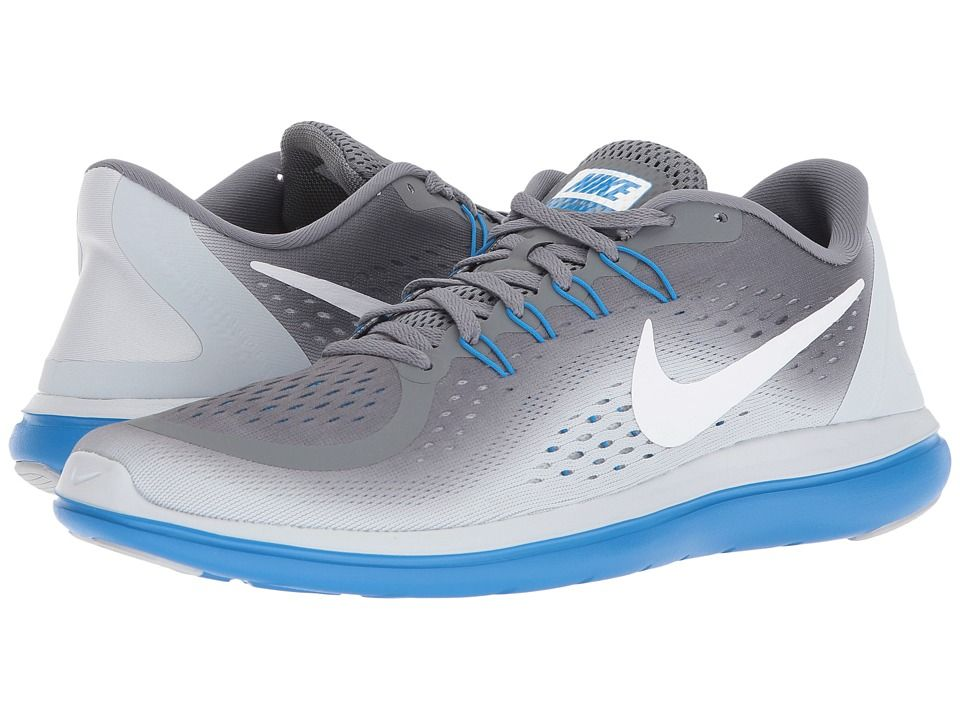 ee92cce1bd56 Nike Flex RN 2017 (Cool Grey White Pure Platinum Photo Blue) Men s Running  Shoes  shoes