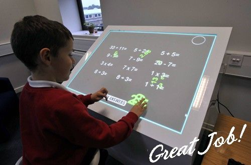 Classrooms Of The Future To Have Multitouch Desks Probably A Few