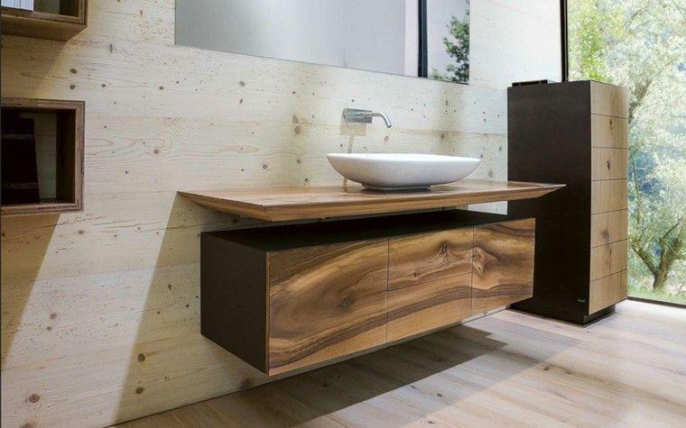 diseo moderno madera estilo rustico