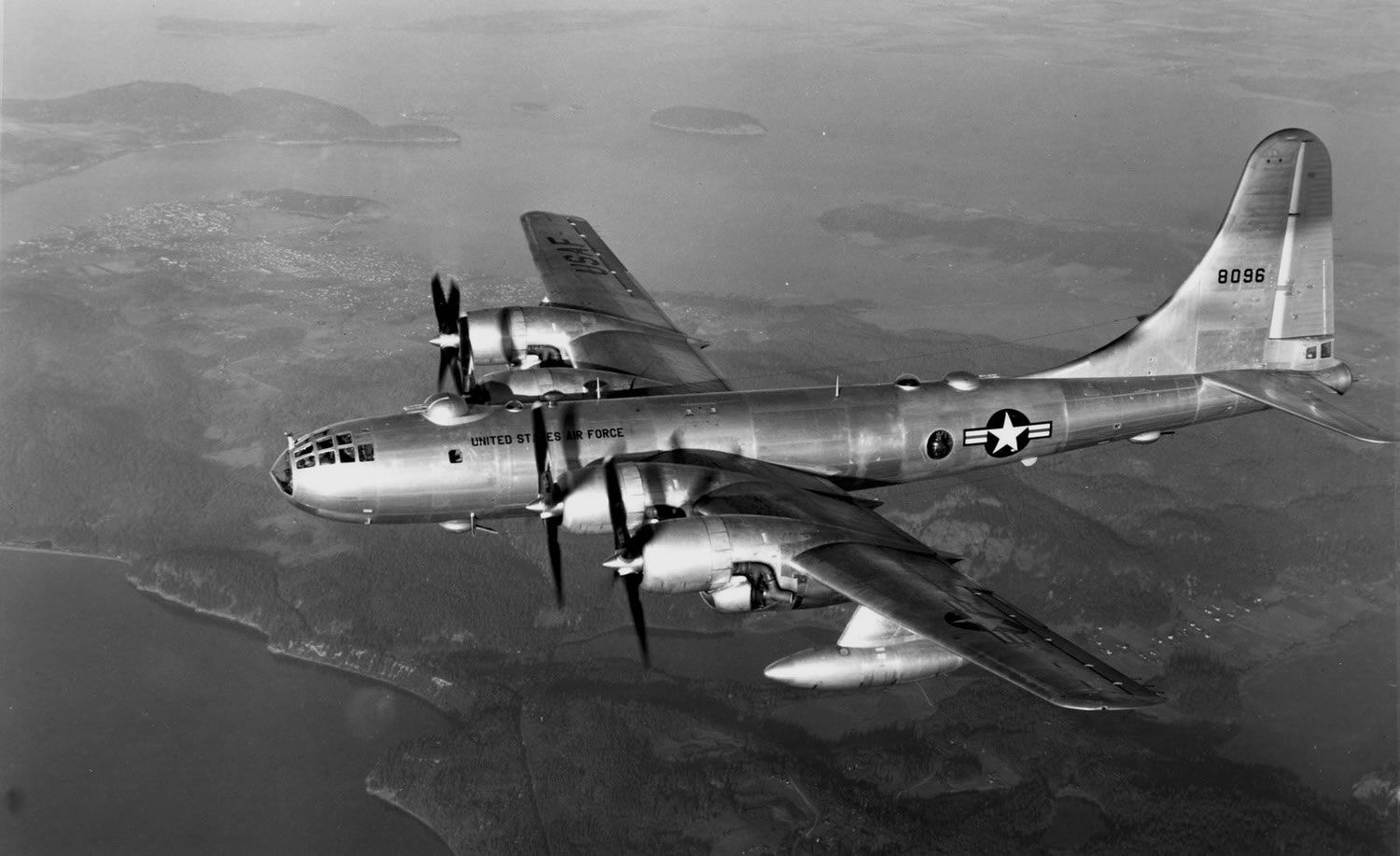 Boeing B-50 Superfortress  A strategic bomber that was a post–World