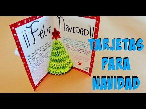 diy tarjeta de arbol en 3d pop up tarjetas para navidad youtube navidad pinterest para navidad 3d y tarjetas - Tarjeta De Navidad En 3d