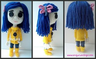 Amigurumi Wybie Doll : Best crochet dolls images crochet ideas
