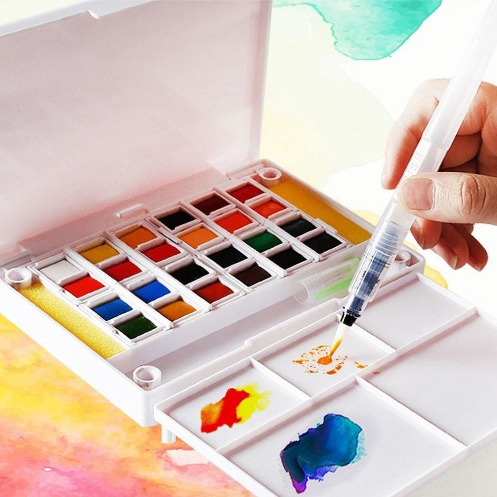 Watercolor Pan Set Fundamentals By Artist S Loft Watercolor
