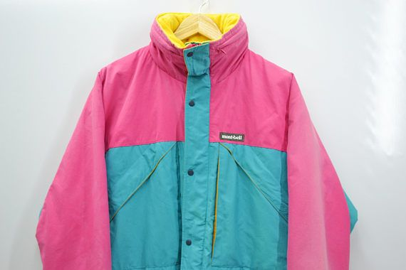67ee3afeda9c RARE!!! Montbell Jacket Vintage Montbell Thinsulate Multicolor ...