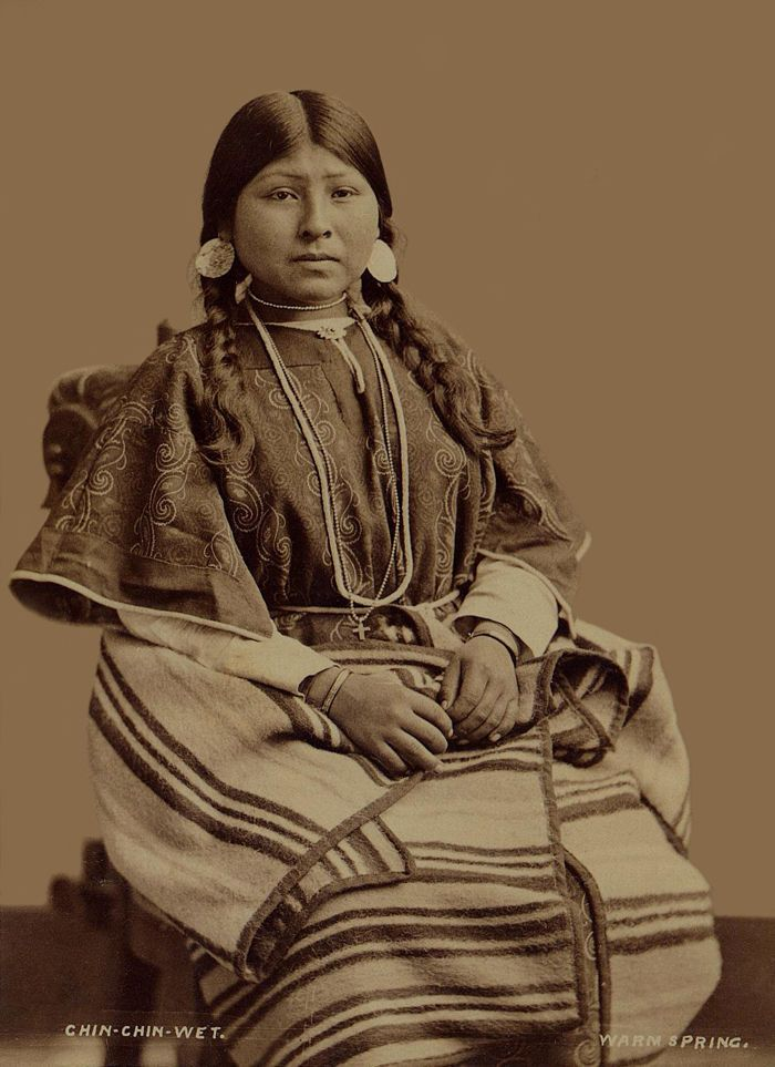 Alone aka Chin Chin Wet - Wife of Wey-a-tat-han - Warm Springs, AK, 1877.