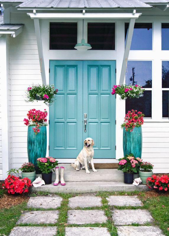 like the door color.