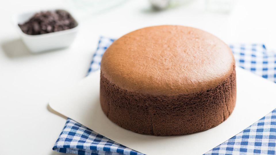 So fluffig wie Zuckerwatte: Japanischer Soufflé-Käsekuchen mit Schokolade