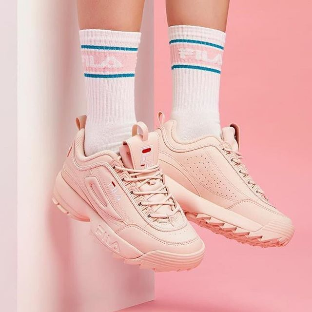 Fila disruptor ll | Chaussures et chaussettes, Chaussures