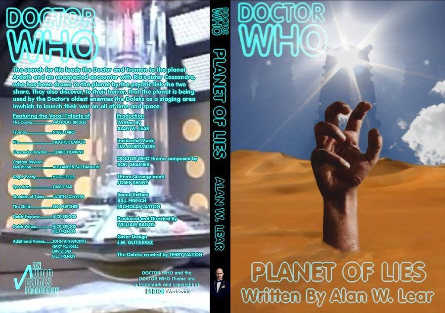 Doctor Who - Audio Visuals - Early non-canonical Doctor Who stories - Big Finish ancestor company - REMASTERED - Bill Baggs, Gary Russell