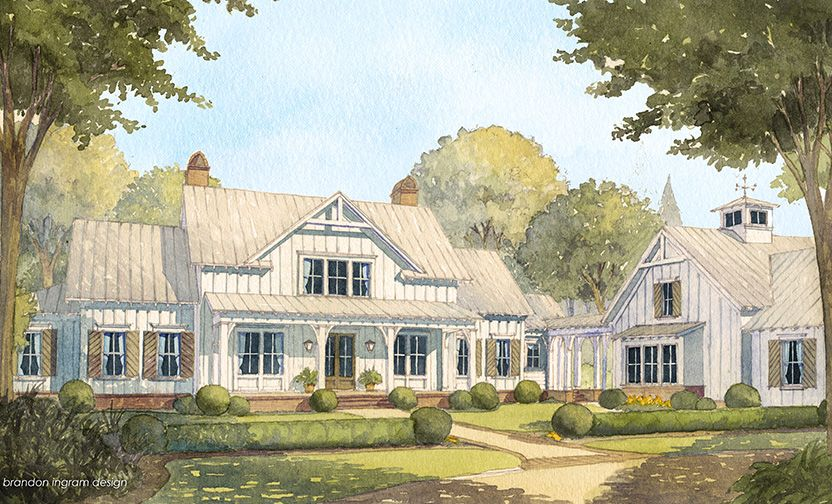 looking for the best house plans check out the cedar river farmhouse plan from southern living
