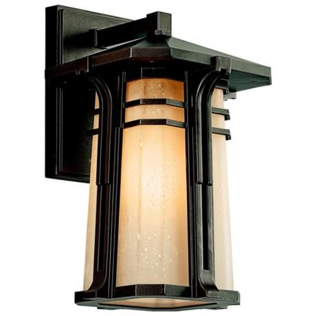 "North Creek ENERGY STAR 13 1/2"" High Outdoor Wall Light - $250, 13 12"" h x 8 1/2"" w"