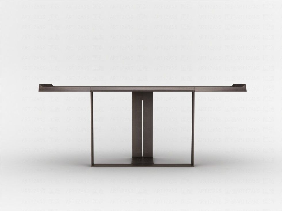 Minimal design modern console table for a contemporary for Minimal furniture