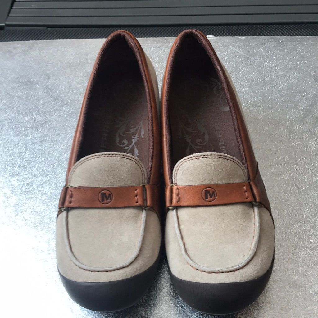 Shoes Worn With Socks. No Stains Or Spots
