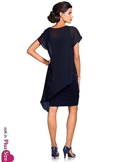 64de434ce23cf8 Koop Ashley Brooke - Cocktailjurk nachtblauw in de Heine online-shop