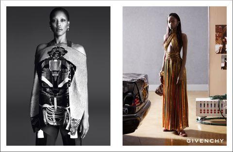 Erykah Badu for Givenchy. THAT is a surprising and great choice
