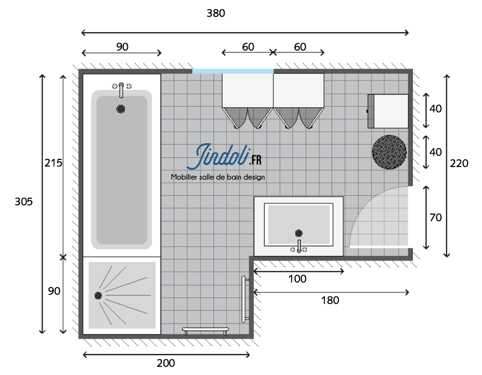Exemple Plan De Salle De Bain De 11m2 Living Magazine Floor Plans Healthy Living Magazine