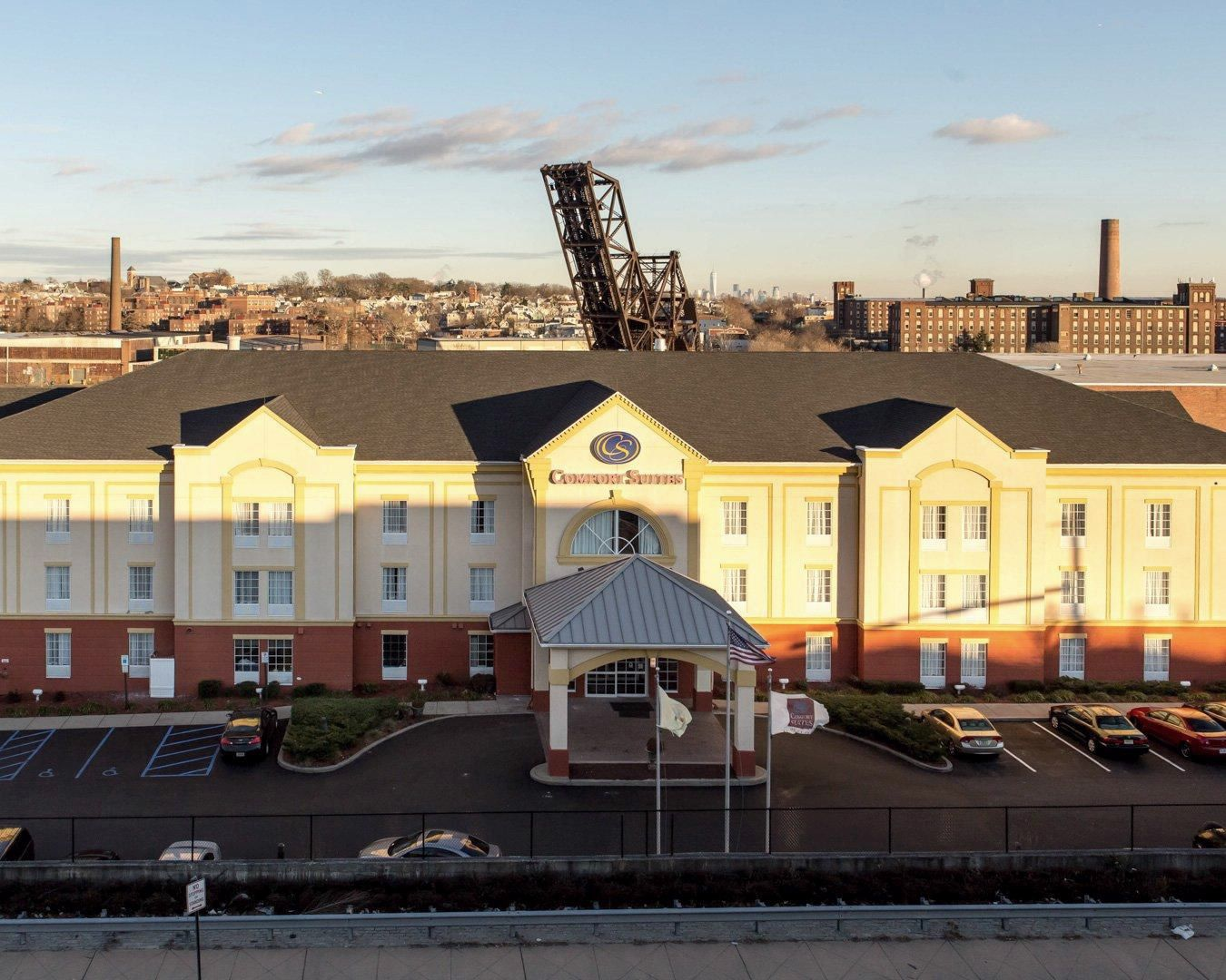 Newark Nj Hotels Comfort Suites Hotel Near Airport