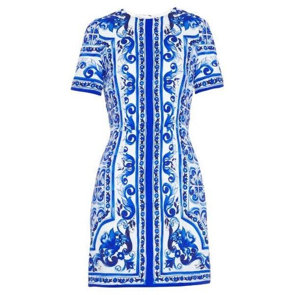 Majolique Cravate D'impression - Bleu Dolce & Gabbana xCmegT5SM