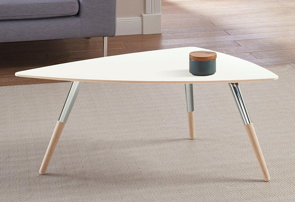 ... Andas Design Couchtisch »stick« Mit Chromdetail An Den Beinen Jetzt   Designer  Couchtische Modern ...