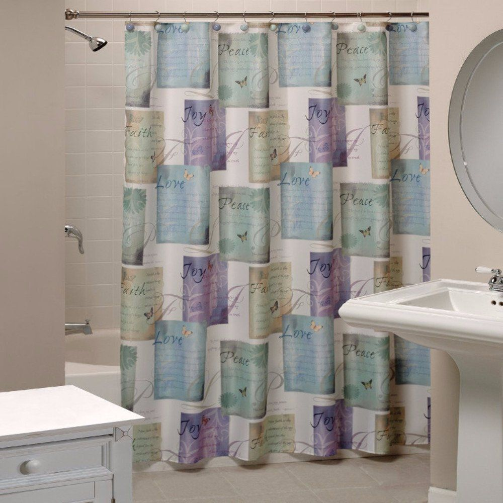 Inspirational Tweets Fabric Shower Curtain Fabric Shower Curtains Cool Shower Curtains Lavender Shower Curtain
