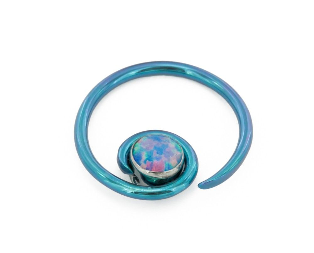 Niobium Halo with Opal ($18.99)