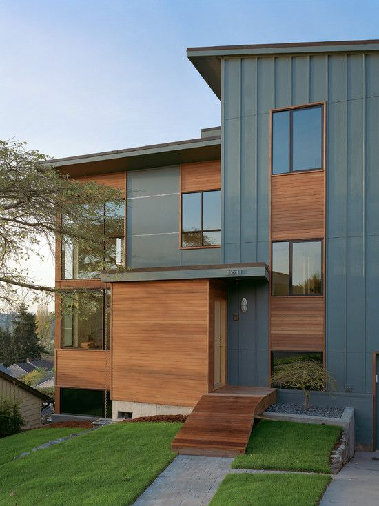 Board And Batten Wood Siding For Natural Exterior Ideas Modern