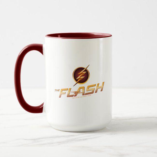 The Flash  TV Show Logo Mug #Sponsored , #SPONSORED, #Show, #Logo, #Mug, #Shop, #Flash