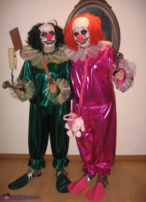 Evil Clowns - 2015 Halloween Costume Contest via @costume_works