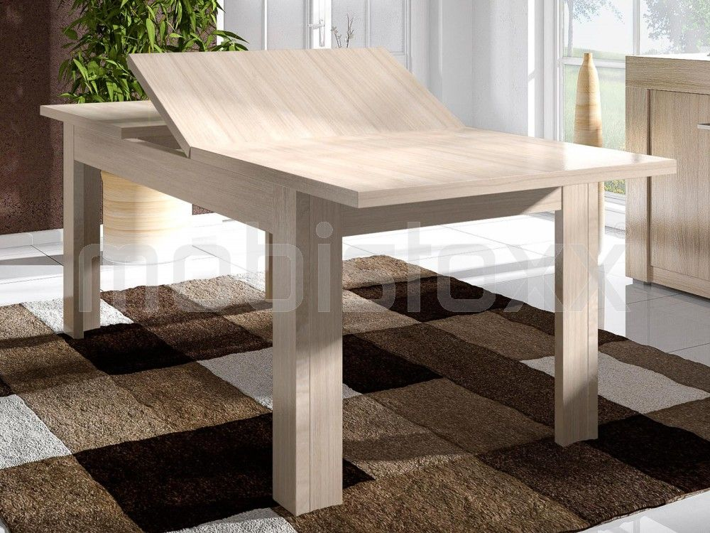 Table Extensible ALLEGRIA 170 U003e 220 Cm Chêne Cérusé | Mobistoxx | Votre  Spécialiste De Meubles