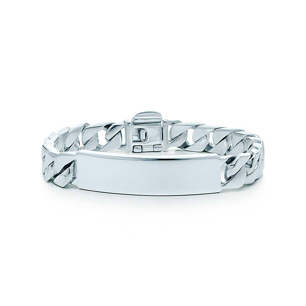 Medical Id Bracelet In Sterling Silver Medium Tiffany Co