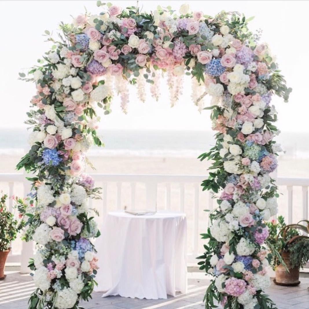 Pastel Wedding Arch Of Mu Dreams 🌸 @bridalguide In 2019