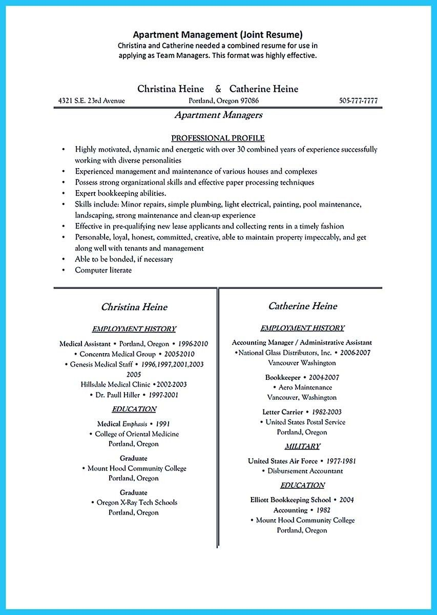 Apartment Manager Resume Simple Cool Outstanding Professional Apartment Manager Resume You Wish To .