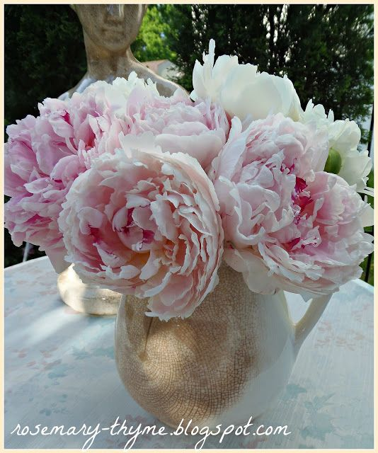 Rosemary and Thyme: Peonies From My Garden