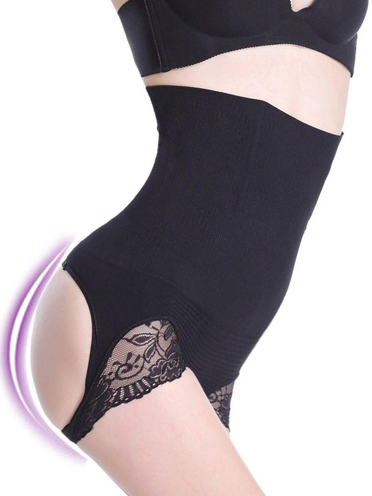 33f6c347e92c1 Womens Firm Control Shapewear Butt Lifter Seamless Shaping Hi-Waist  Boyshorts Tummy Waist Trainer Cincher