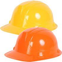 Bulk Plastic Play Construction Hard Hats At Dollartree Com Hard Hats Construction Party Construction Birthday