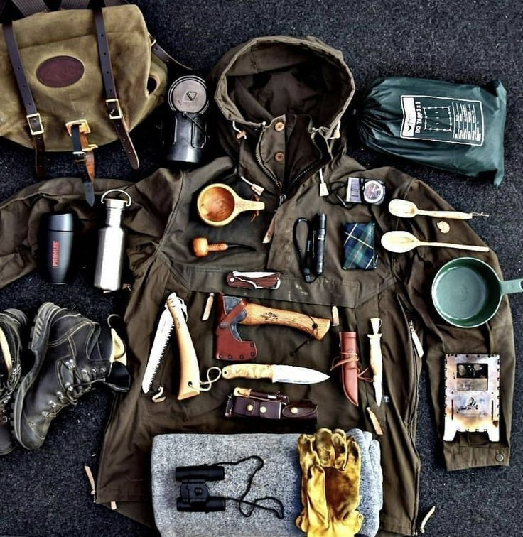 Photo of Bushcraft Survival Loadout and Men's Clothing – #Bushcraft #Men's Clothing # …