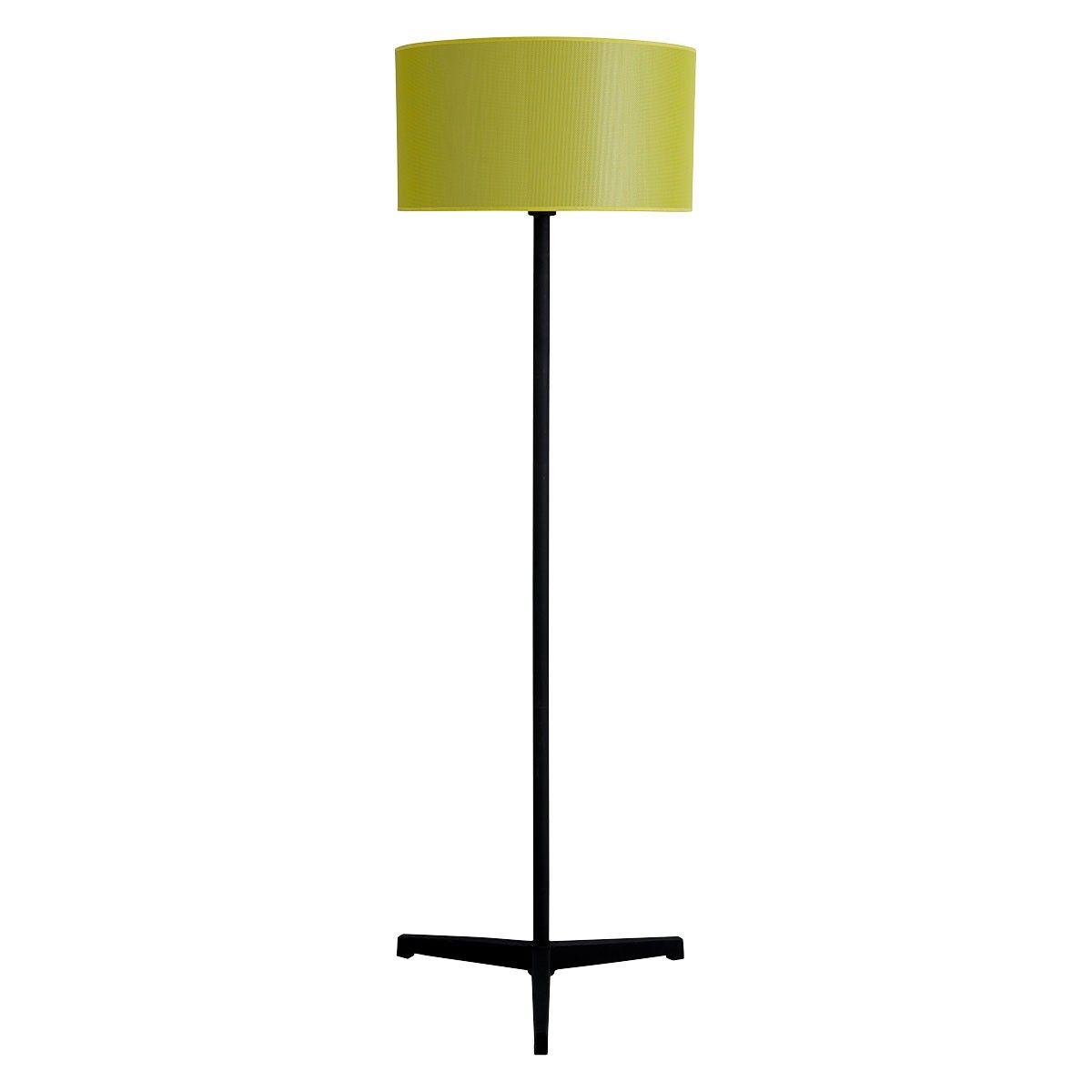 Ramsgate Black Metal Floor Lamp With Yellow Mesh Shade Black Metal Floor Lamp Metal Floor Lamps Lamp