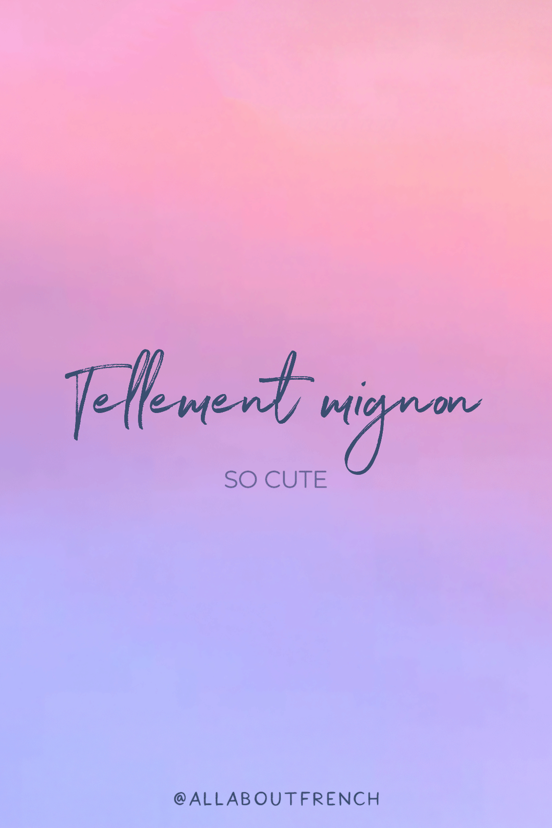 Learn to speak French with us ✨ Free Beautiful French Quotes and ...