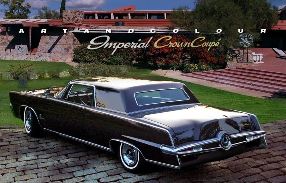 1964 Chrysler Imperial Crown Coupe Photographed At Frank Lloyd