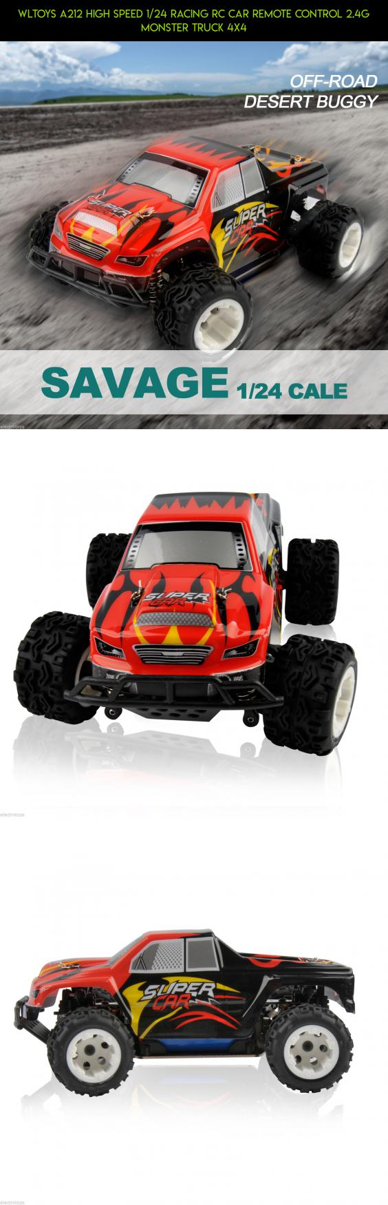 WLtoys A212 High Speed 1/24 Racing RC Car Remote Control 2