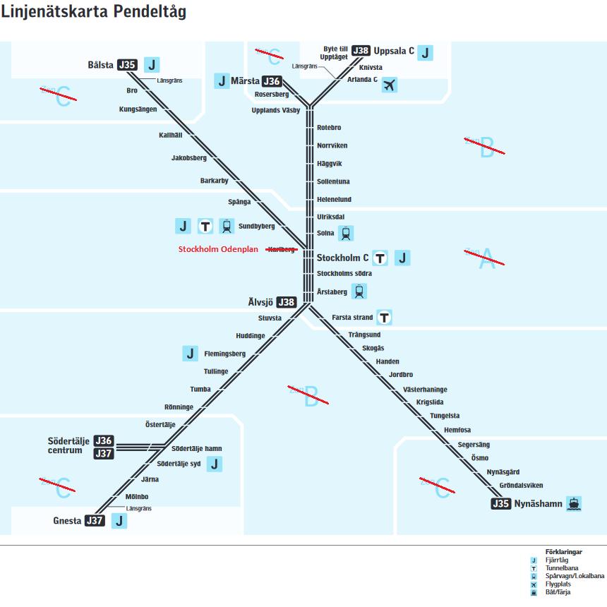 tunnelbana och pendeltåg stockholm karta