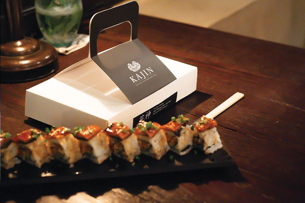 Clever Takeout Box For Bali Sushi Restaurant Food Packaging Design Sushi Restaurants Sushi Bar