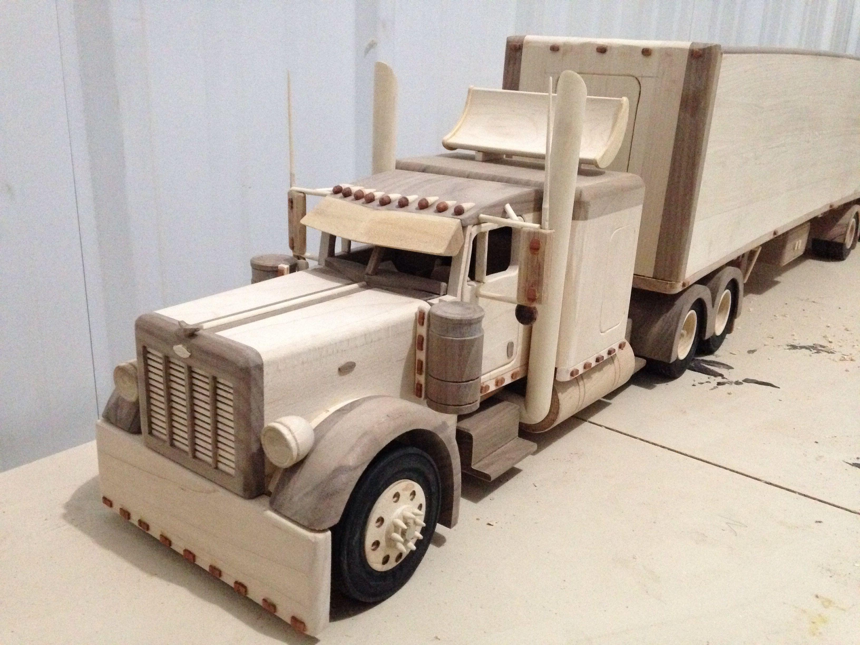 De Juguete Madera Peterbilt TruckMiscelaneous Camiones XiuOPZk