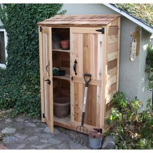 Garden Shed Made Out Of Pallets Garden Storage Shed Garden Tool