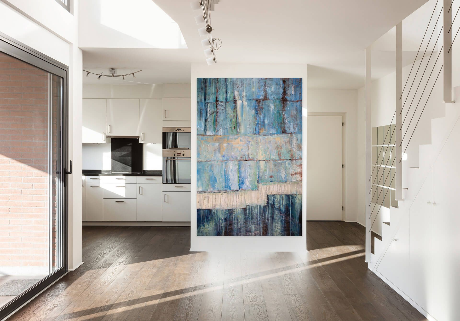 Öl Gemälde 'Seelenverwandt' 120x180cm