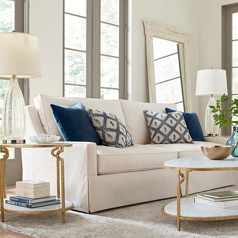 Designer Comfort Exeter Sofa | Seat cushions, Plush and Arms