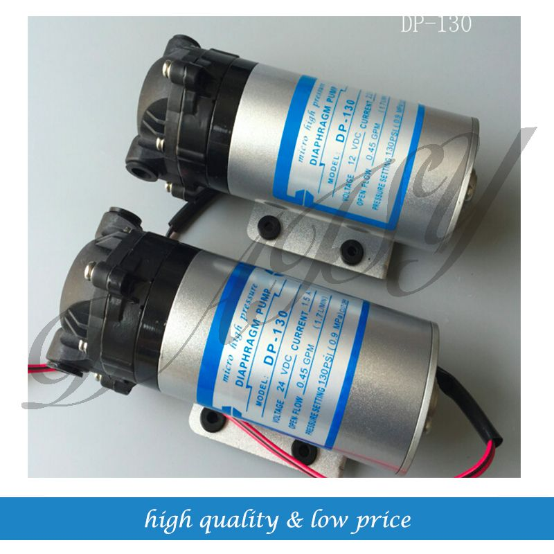 Free Shipping Dp 130 Dc 12v 60w High Pressure Micro Diaphragm Water Pump Car Washer Diaphragm Pump Plumbing